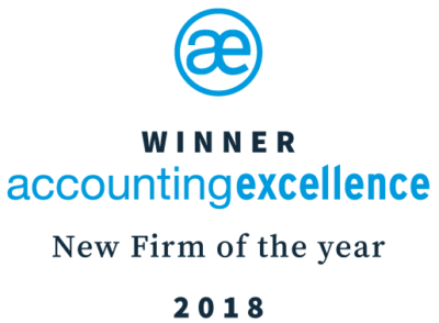 Accounting Excellence Winner 2018